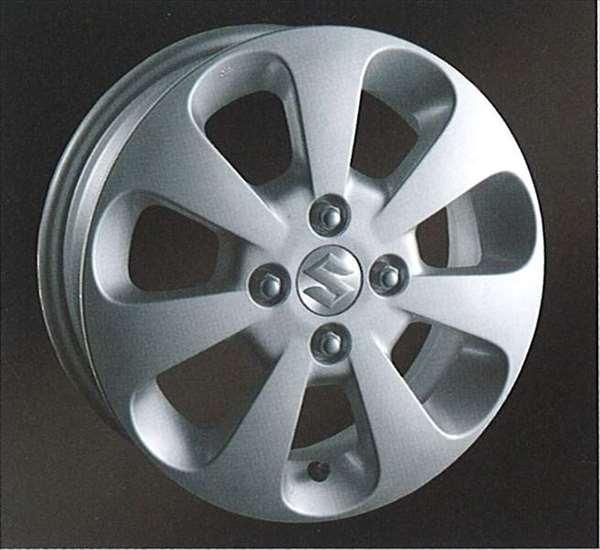『パレット』 純正 MK21S アルミホイール 1本のみ (14インチ) パーツ スズキ純正部品 palette オプション アクセサリー 用品