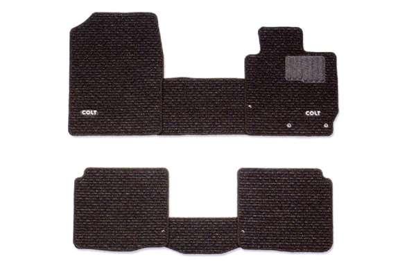 『コルト』 純正 Z21A Z23A Z27AG フロアマット(スタンダード)4WD パーツ 三菱純正部品 フロアカーペット カーマット カーペットマット COLT オプション アクセサリー 用品