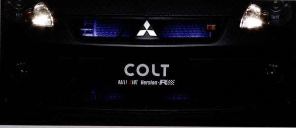 『コルト』 純正 Z21A Z23A Z27AG グリル&バンパーイルミネーション パーツ 三菱純正部品 ライト 照明 ドレスアップ COLT オプション アクセサリー 用品