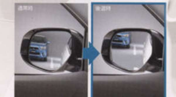 『RVR』 純正 GA3W リバースミラーコントローラー パーツ 三菱純正部品 オプション アクセサリー 用品