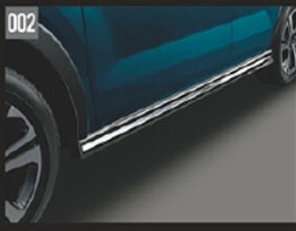 『ロッキー』 純正 A200S A210S サイドストーンガード X07・メッキ付 パーツ ダイハツ純正部品 サイドスポイラー カスタム マッドガード オプション アクセサリー 用品