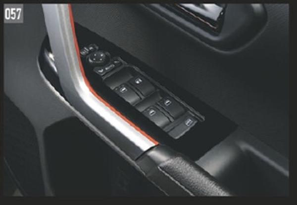 『ロッキー』 純正 A200S A210S パワーウインドゥスイッチパネル(ピアノブラック調) パーツ ダイハツ純正部品 内装ベゼル パワーウィンドウパネル オプション アクセサリー 用品
