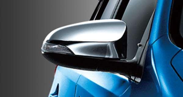 『オーリス』 純正 ZWE186 NRE185 ZRE186 NZE181 NZE184 メッキドアミラーカバー パーツ トヨタ純正部品 サイドミラーカバー カスタム auris オプション アクセサリー 用品