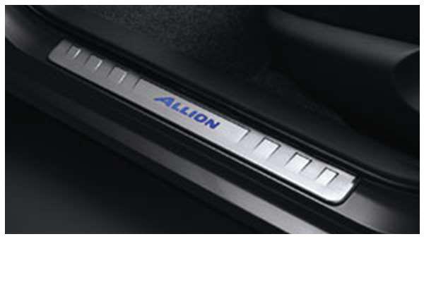 『アリオン』 純正 ZRT261 ZRT260 スカッフイルミネーション パーツ トヨタ純正部品 ステップ 保護 プレート allion オプション アクセサリー 用品