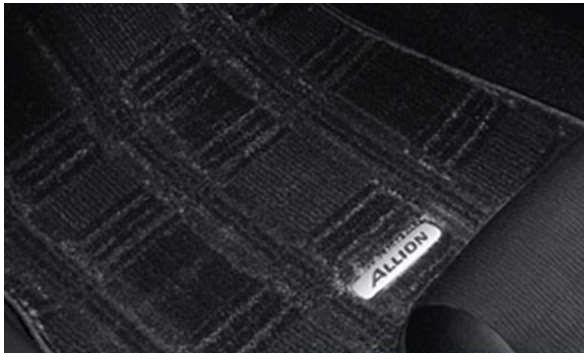 『アリオン』 純正 ZRT261 ZRT260 フロアマットラグジュアリーアリオンallion ZRT261/260 パーツ トヨタ純正部品 フロアカーペット カーマット カーペットマット allion オプション アクセサリー 用品