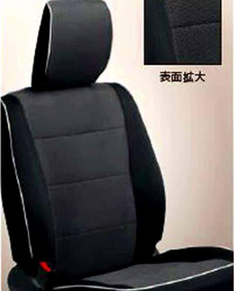 『ジムニーシエラ』 純正 JB43W シートカバー(ブラック) パーツ スズキ純正部品 座席カバー 汚れ シート保護 jimny オプション アクセサリー 用品