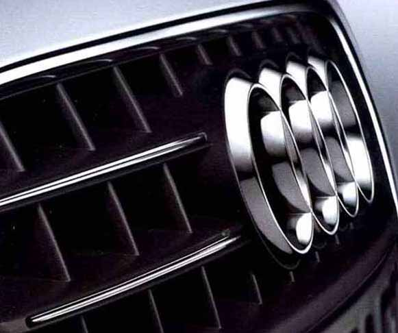 TT parts front grille chrome Strip Audi genuine parts 8 JCDA 8JCESF 8JCDLF  8JCEPF optional accessories Accessories factory Grill