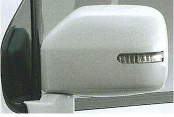 『シボレーMW』 純正 ME34 ドアミラーカバー(サイドマーカーランプ付) パーツ スズキ純正部品 サイドミラーカバー カスタム Chevroletmw オプション アクセサリー 用品
