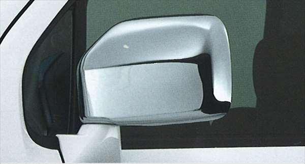 『シボレーMW』 純正 ME34 メッキ ドアミラーカバー パーツ スズキ純正部品 メッキ サイドミラーカバー カスタム Chevroletmw オプション アクセサリー 用品