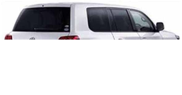 『ランドクルーザー』 純正 UZJ200 IR(赤外線)カットフィルムリヤサイド・バックガラス(クリア) パーツ トヨタ純正部品 日除け カーフィルム landcruiser オプション アクセサリー 用品