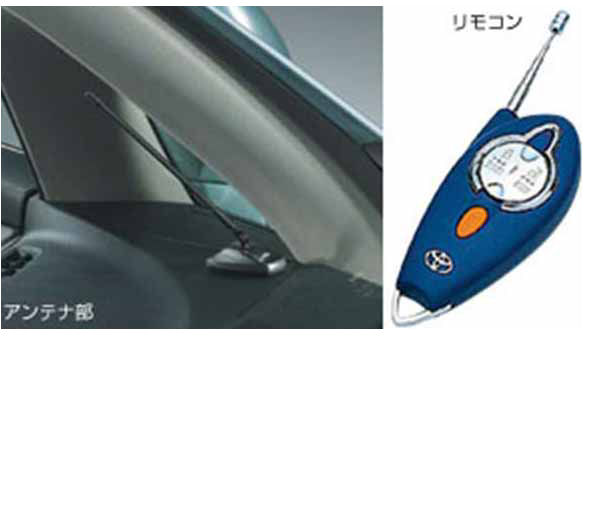 『マークXジオ』 純正 ANA10 ANA15 GGA10 リモートスタート本体STD・多重イモビ パーツ トヨタ純正部品 ワイヤレス エンジンスターター 無線 markxgio オプション アクセサリー 用品