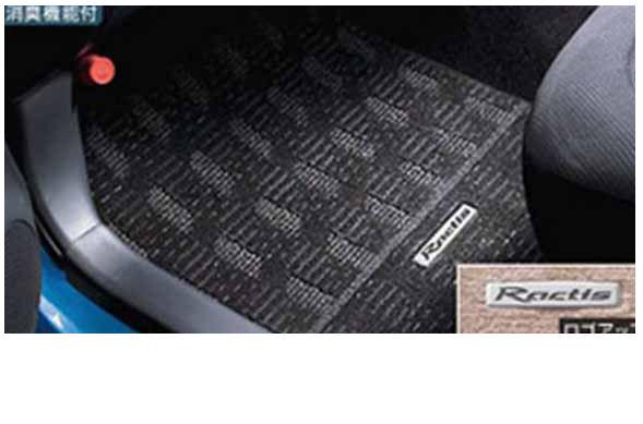 『ラクティス』 純正 NCP100 NCP105 SCP100 フロアマットデラックス パーツ トヨタ純正部品 フロアカーペット カーマット カーペットマット ractis オプション アクセサリー 用品