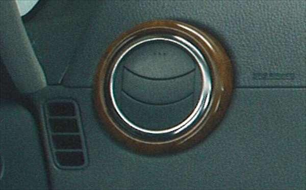 『SX4』 純正 YA11 YB11 ルーバーパネル パーツ スズキ純正部品 ウッド 木目 内装パネル 飾り エアコンパネル オプション アクセサリー 用品