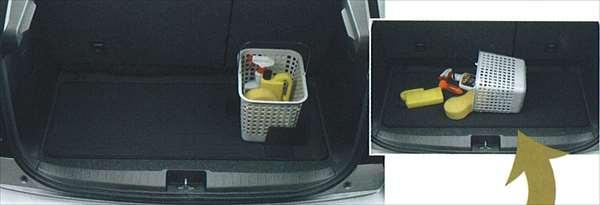 『SX4』 純正 YA11 YB11 ラゲッジマット(パーテーション付) パーツ スズキ純正部品 ラゲージマット 荷室マット 滑り止め オプション アクセサリー 用品