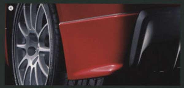 lanx004 『ランサーエボリューションX』 純正 CZ4A リヤコーナーエクステンション パーツ 三菱純正部品 LANCER オプション アクセサリー 用品