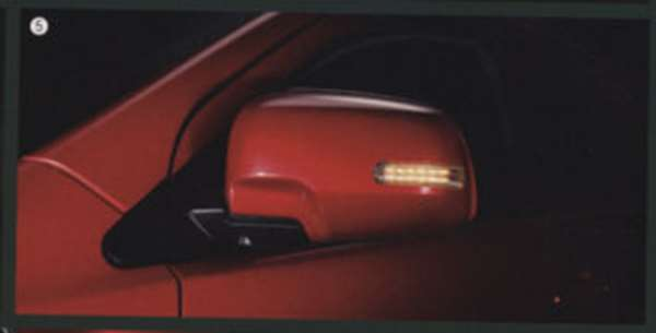 『ランサーエボリューションX』 純正 CZ4A ターンシグナル付きミラーカバー パーツ 三菱純正部品 LANCER オプション アクセサリー 用品