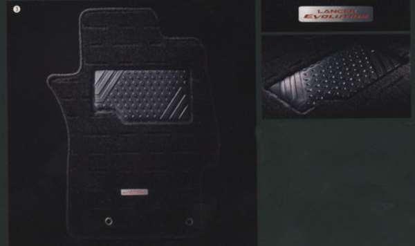 lanx019 『ランサーエボリューションX』 純正 CZ4A フロアカーペット パーツ 三菱純正部品 LANCER オプション アクセサリー 用品