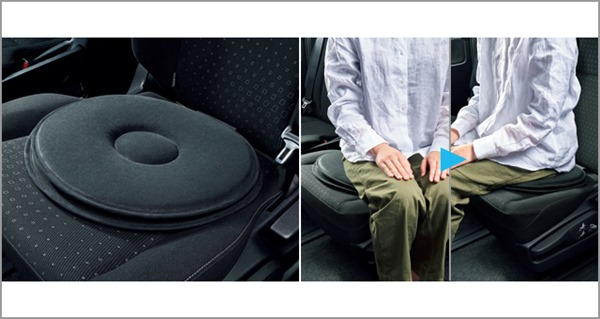 『カローラ』 純正 ZWE211 ZWE214 ZRE212 NRE210 回転クッション パーツ トヨタ純正部品 オプション アクセサリー 用品