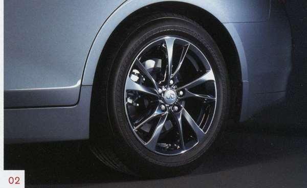 『スカイライン』 純正 HV37 HNV37 17インチアルミホイール ※タイヤ空気圧センサー有 ※1台分/4本セット パーツ 日産純正部品 安心の純正品 SKYLINE オプション アクセサリー 用品