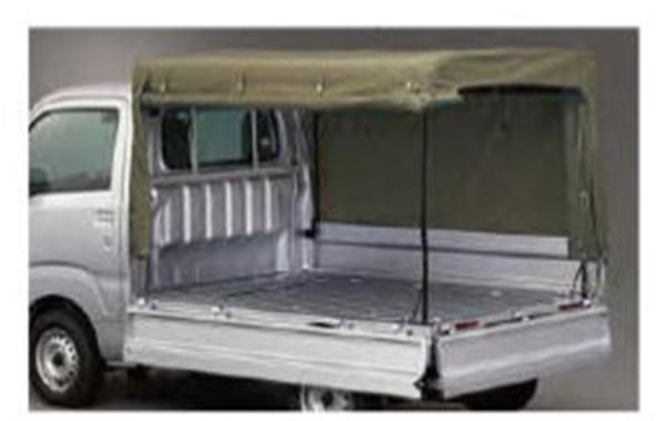 『ハイゼットトラック』 純正 S500P S510P 幌(フロア立三方開) パーツ ダイハツ純正部品 ホロ トラック幌 オプション アクセサリー 用品