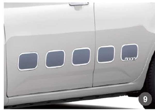 『ブーン』 純正 M700S M710S サイドストライプ(STYLE用) パーツ ダイハツ純正部品 デカール ステッカー シール オプション アクセサリー 用品