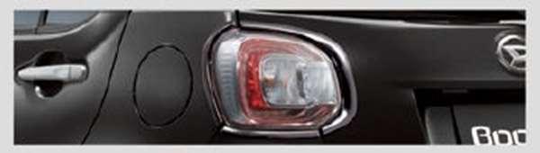 『ブーン』 純正 M700S M710S リヤコンビネーションランプガーニッシュ(CILQ用)ブラックメッキ パーツ ダイハツ純正部品 オプション アクセサリー 用品