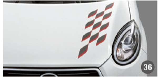 『ブーン』 純正 M700S M710S フードストライプ(CILQ用)エアロ パーツ ダイハツ純正部品 デカール ステッカー シールデカール ステッカー シール オプション アクセサリー 用品