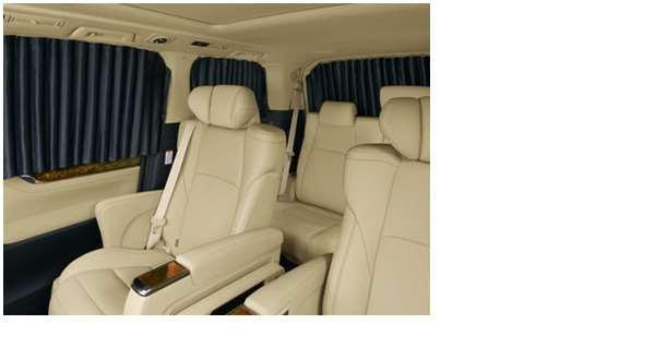 【アルファード】純正 AYH30W GGH30W GGH35W AGH30W AGH35W 室内カーテン(遮光機能付/ドレープタイプ) パーツ トヨタ純正部品 目隠し 日除け スモーク オプション アクセサリー 用品