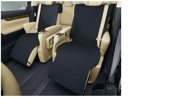 【アルファード】純正 AYH30W GGH30W GGH35W AGH30W AGH35W セカンドシートカバー1枚(撥水タイプ) パーツ トヨタ純正部品 座席カバー 汚れ シート保護 オプション アクセサリー 用品