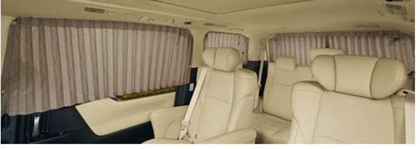 【アルファード】純正 AYH30W GGH30W GGH35W AGH30W AGH35W 室内カーテン(一重・フォーマルプリーツタイプ) パーツ トヨタ純正部品 目隠し 日除け スモーク オプション アクセサリー 用品