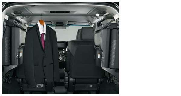 『アルファード』 純正 AYH30W GGH30W GGH35W AGH30W AGH35W ハンガーパイプ パーツ トヨタ純正部品 オプション アクセサリー 用品
