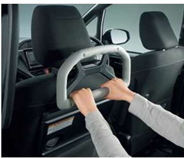 【アルファード】純正 AYH30W GGH30W GGH35W AGH30W AGH35W アシストグリップ(ヘッドレスト取付タイプ) パーツ トヨタ純正部品 補助グリップ 手摺 オプション アクセサリー 用品
