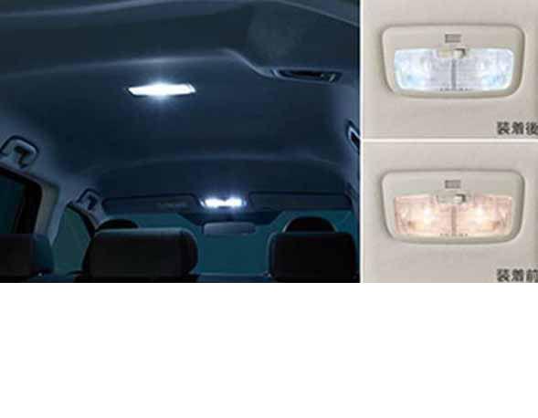 『シエンタ』 純正 NSP170G NCP175G NHP170G LEDバルブセット パーツ トヨタ純正部品 電球 照明 ライト sienta オプション アクセサリー 用品