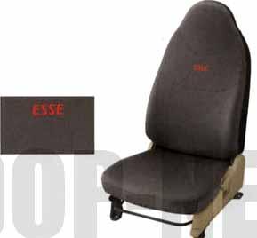 dese044 『エッセ』 純正 L235S L245S ブラックスウェード調シートカバー(1台分) パーツ ダイハツ純正部品 座席カバー 汚れ シート保護 esse オプション アクセサリー 用品