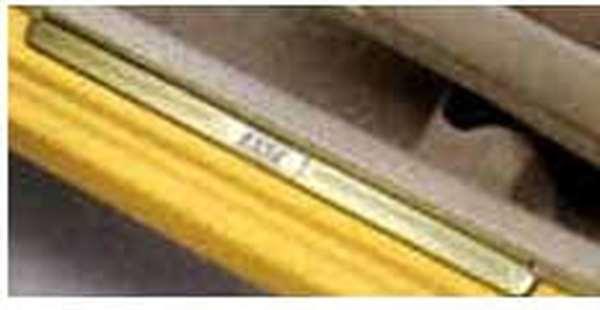 『エッセ』 純正 L235S L245S カラースカッフプレートカバー(1台分) パーツ ダイハツ純正部品 ステップ 保護 プレート esse オプション アクセサリー 用品