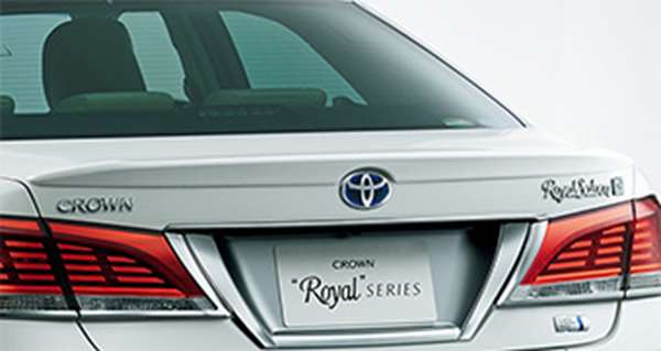 『クラウンロイヤル』 純正 AWS210 GRS210 GRS211 AWS211 リヤスポイラー パーツ トヨタ純正部品 crown オプション アクセサリー 用品