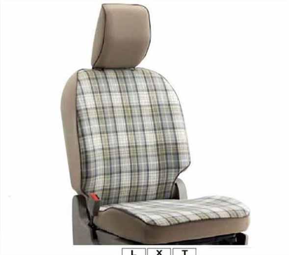 『パレット』 純正 MK21S シートカバー(タータンチェック)サイドエアバック無車用 ※1台分(フロント・リヤ)セット パーツ スズキ純正部品 座席カバー 汚れ シート保護 palette オプション アクセサリー 用品