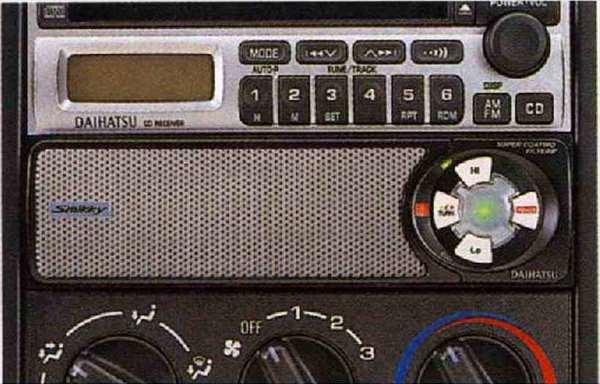 『ネイキッド』 純正 L750S 760S 1DIN空気清浄機(smikky) パーツ ダイハツ純正部品 naked オプション アクセサリー 用品