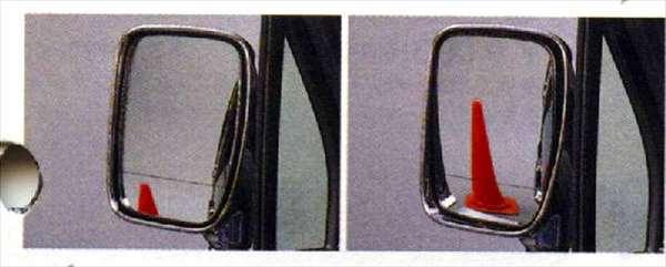 『ネイキッド』 純正 L750S 760S リバースドアミラーコントローラー パーツ ダイハツ純正部品 メッキ naked オプション アクセサリー 用品