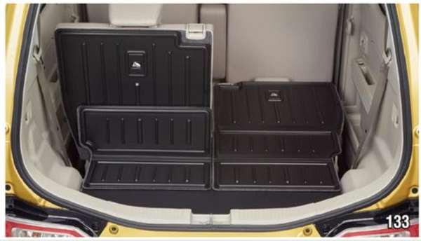 『ワゴンR』 純正 MH55S MH35S ラゲッジマット(シート背裏あり) パーツ スズキ純正部品 ラゲージマット 荷室マット 滑り止め オプション アクセサリー 用品