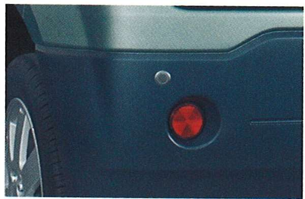 『ekアクティブ』 純正 H81W コーナーセンサー(リヤ2コーナー) パーツ 三菱純正部品 危険通知 接触防止 障害物 オプション アクセサリー 用品