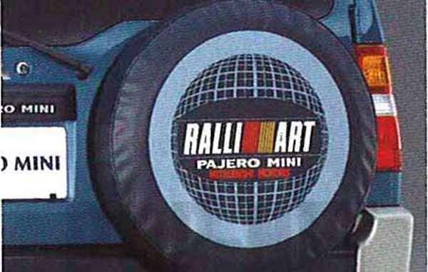 帕杰罗迷你备胎罩 (RALLIART) 三菱原装配件帕杰罗微型零件 h58a 保护盖真正三菱三菱三菱真正三菱部分选项 | | 帕杰罗迷你帕杰罗迷你帕杰罗迷你帕杰罗迷你帕杰罗迷你帕杰罗迷你