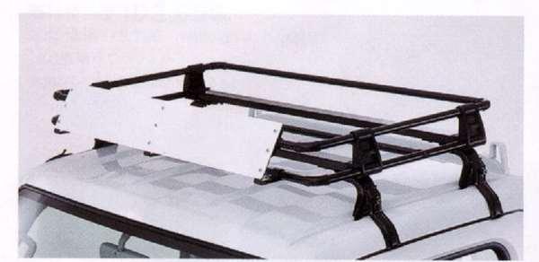 『スクラム』 純正 DG64W DG64V DG63T ルーフキャリア(スチール製・黒) パーツ マツダ純正部品 scrum オプション アクセサリー 用品