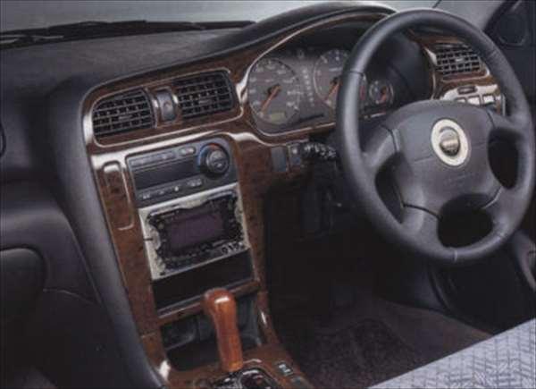 『レガシィ』 純正 BE5 BE9 BEE BH5 BH9 BHC BHE ウッドタイプパネル(ブラウン)インパネセット AT車用 メーカオプションのナビ付車 パーツ スバル純正部品 legacy オプション アクセサリー 用品