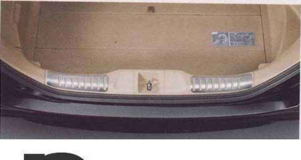 『オデッセイ』 純正 RB3 RB4 テールゲートガーニッシュカバー パーツ ホンダ純正部品 odyssey オプション アクセサリー 用品