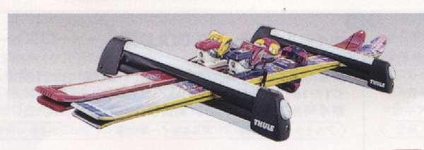 『アクセラ』 純正 BLFFW BL5FW BLEAW スキー/スノーオードアタッチメント(THULE製・Bタイプ) パーツ マツダ純正部品 キャリア別売り axela オプション アクセサリー 用品