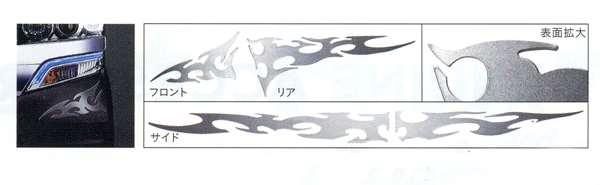 『NBOX+』 純正 JF1 デカールフレア サイド パーツ ホンダ純正部品 ステッカー シール ワンポイント オプション アクセサリー 用品