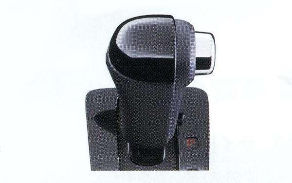 『NBOX+』 純正 JF1 シフトノブ 本革×ピアノブラック加飾コンビ パーツ ホンダ純正部品 オプション アクセサリー 用品