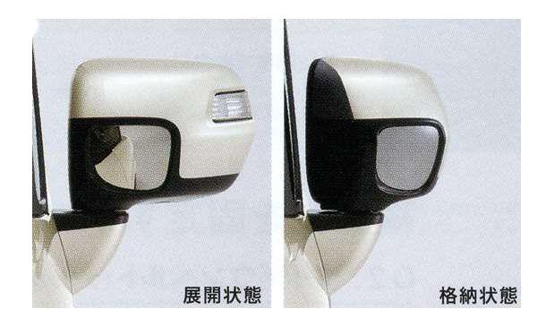 NBOX+ 純正 JF1 オートリトラミラー ドアロック連動タイプ パーツ オプション 卸直営 ドアミラー自動格納 ホンダ純正部品 駐車連動 用品 アクセサリー 出色