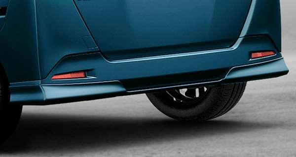 『ルーミー』 純正 M900A M910A リヤバンパースポイラー ブラック パーツ トヨタ純正部品 リアスポイラー リヤスポイラー エアロパーツ オプション アクセサリー 用品